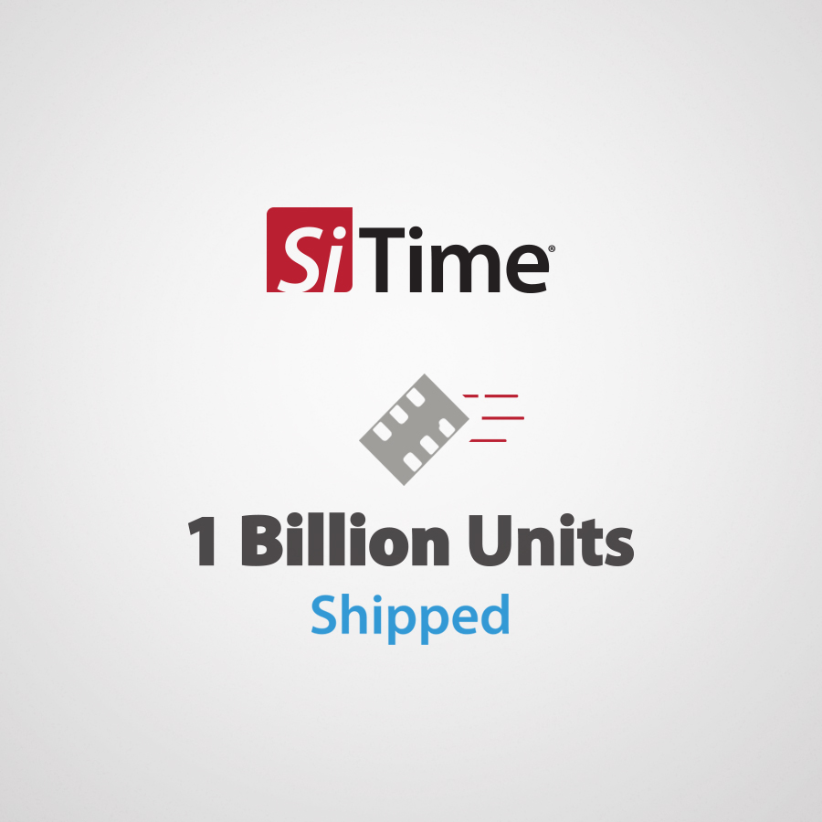 PR Image - SiTime Ships 1 Billion Units