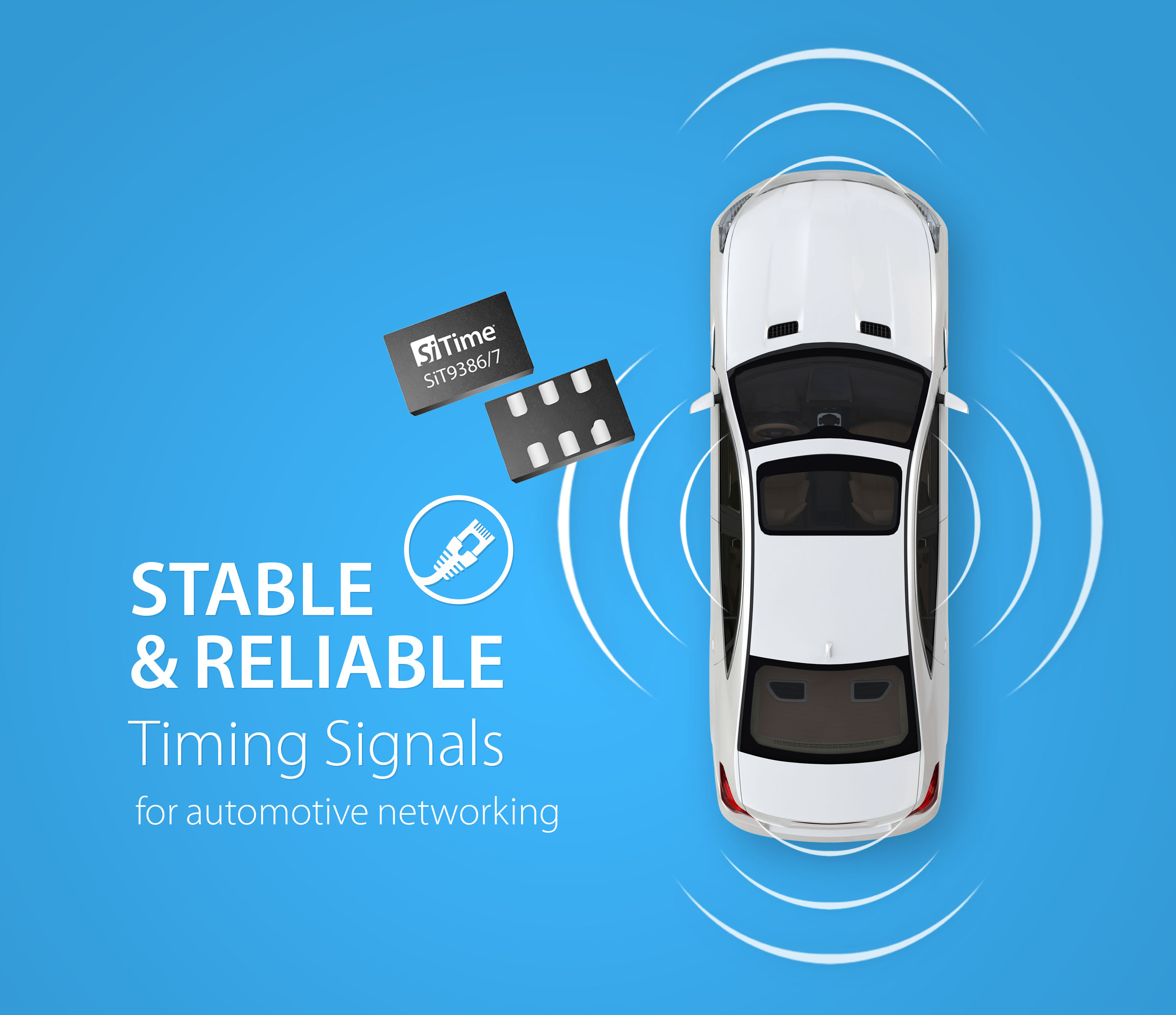 SiT938X: Stable and Reliable Timing Signals for Automotive Networking