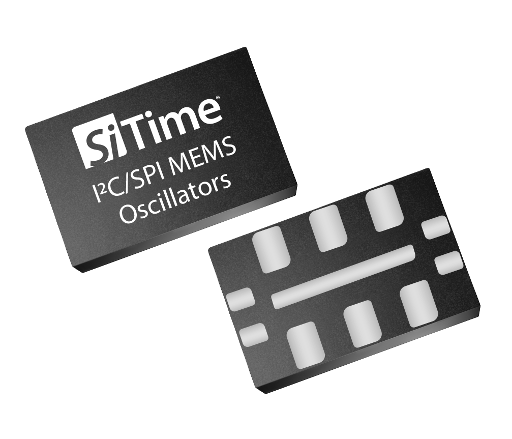 I2C/SPI programmable oscillators in small 5.0 x 3.2 mm packages