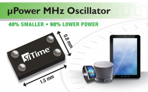 SiT8021 low power oscillator